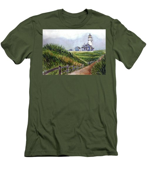 Maine Light Men's T-Shirt (Athletic Fit)