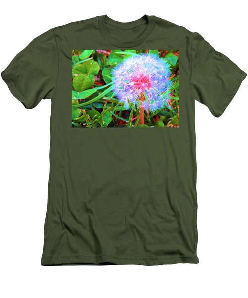 Men's T-Shirt (Slim Fit) featuring the photograph Make A Wish by Susan Carella