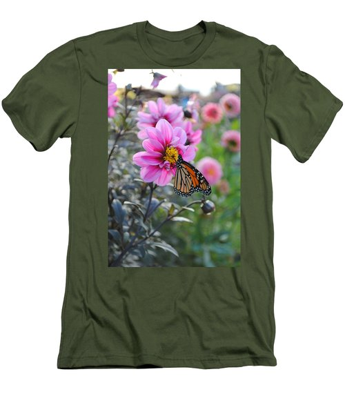 Men's T-Shirt (Slim Fit) featuring the photograph Making Things New by Michael Frank Jr