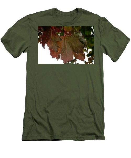 Men's T-Shirt (Athletic Fit) featuring the photograph Maple 2 by Tikvah's Hope