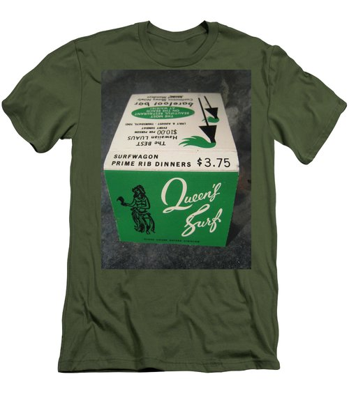 Matchbooks For Hawaii Two Men's T-Shirt (Athletic Fit)