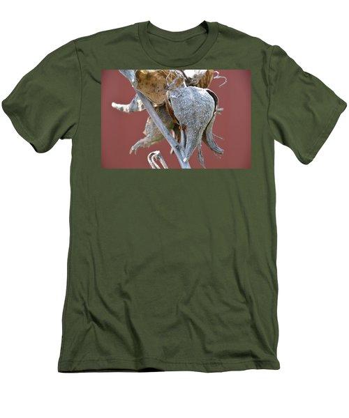 Milkweed Men's T-Shirt (Slim Fit) by Randy J Heath