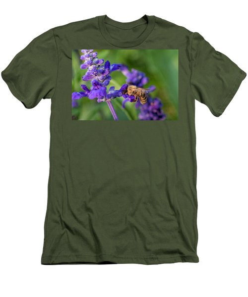 Men's T-Shirt (Slim Fit) featuring the photograph Mmmm Honey by Tom Gort