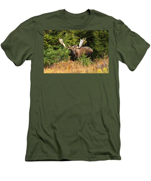 Men's T-Shirt (Slim Fit) featuring the photograph Monster In The Hemlocks by Doug Lloyd