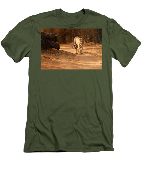 Morning Stroll Men's T-Shirt (Slim Fit) by Fotosas Photography