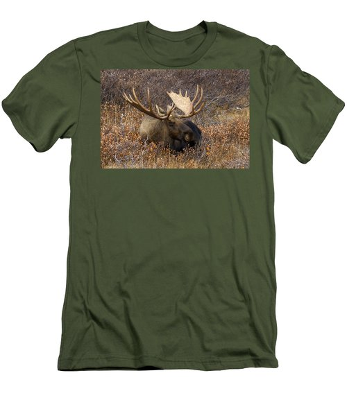 Men's T-Shirt (Slim Fit) featuring the photograph Much Needed Rest by Doug Lloyd