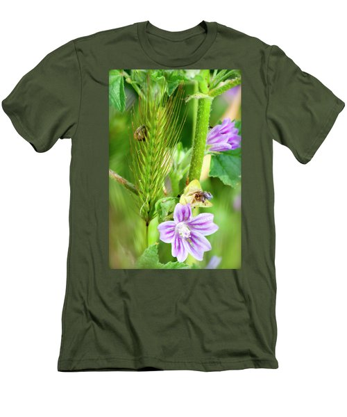 Men's T-Shirt (Slim Fit) featuring the photograph Natural Bouquet by Pedro Cardona
