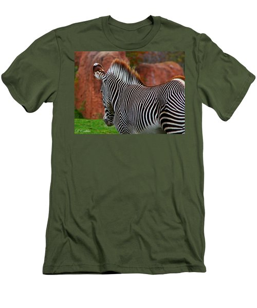 Nature's Barcode Men's T-Shirt (Athletic Fit)