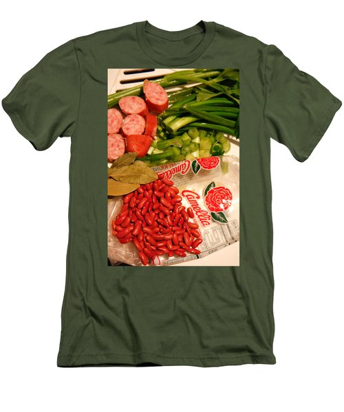 New Orleans' Red Beans And Rice Men's T-Shirt (Athletic Fit)