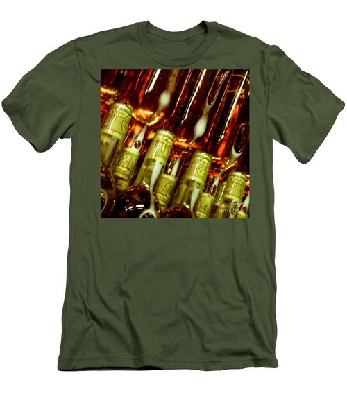 Men's T-Shirt (Slim Fit) featuring the photograph New Wine by Lainie Wrightson