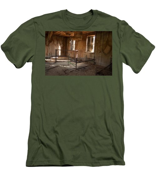 Men's T-Shirt (Slim Fit) featuring the photograph No More Time To Sleep by Fran Riley
