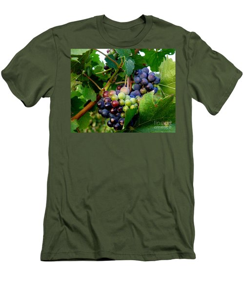 Men's T-Shirt (Slim Fit) featuring the photograph Not Yet by Lainie Wrightson