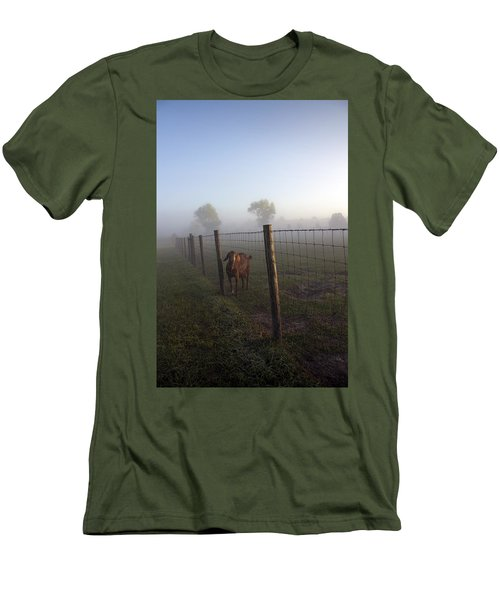Men's T-Shirt (Slim Fit) featuring the photograph Nubian Goat by Lynn Palmer