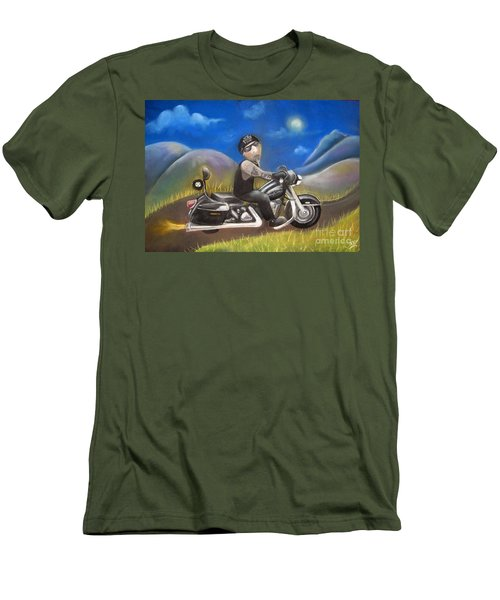 Out On The Road Men's T-Shirt (Athletic Fit)