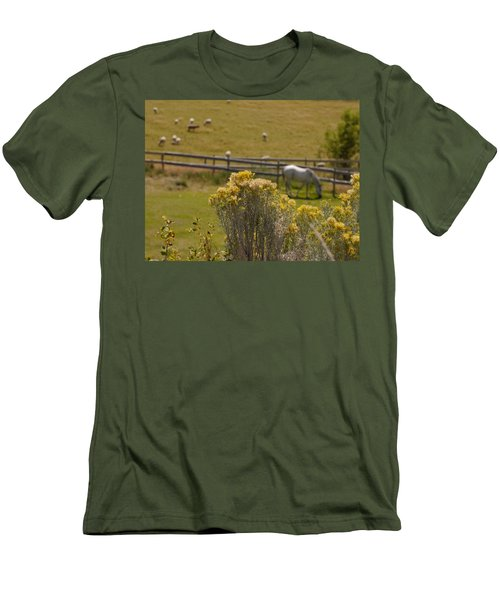 Pastures Men's T-Shirt (Athletic Fit)