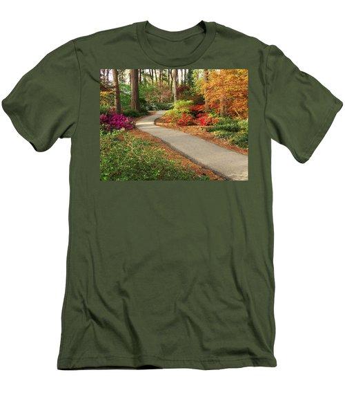 Peaceful Path Men's T-Shirt (Athletic Fit)