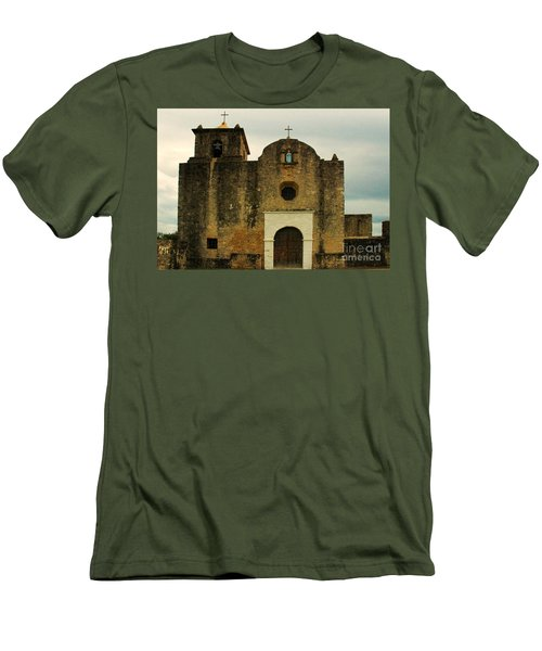 Presidio La Bahia Men's T-Shirt (Slim Fit) by Vivian Christopher