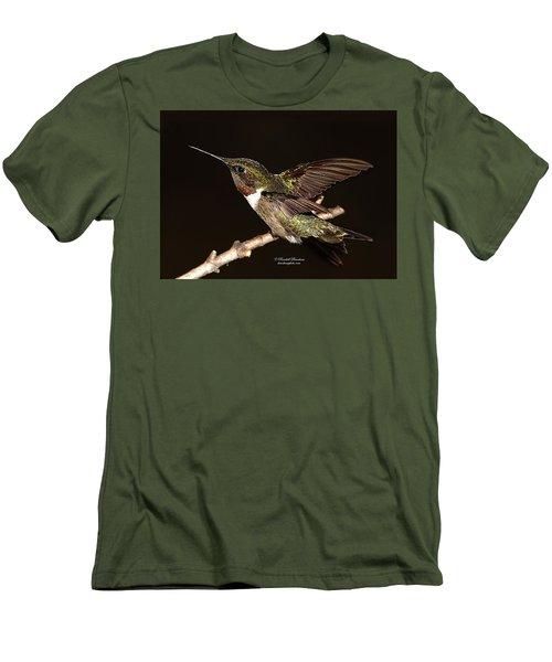 Men's T-Shirt (Slim Fit) featuring the photograph Ready Set Go Hummer by Randall Branham