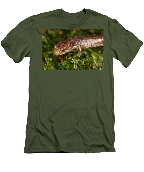 Red-backed Salamander Men's T-Shirt (Athletic Fit)