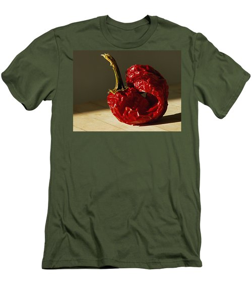 Men's T-Shirt (Slim Fit) featuring the photograph Red Pepper by Joe Schofield
