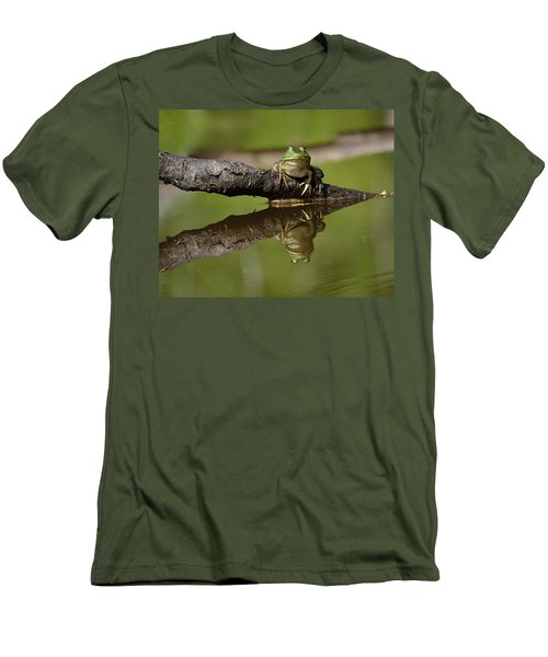 Reflecktafrog Men's T-Shirt (Athletic Fit)