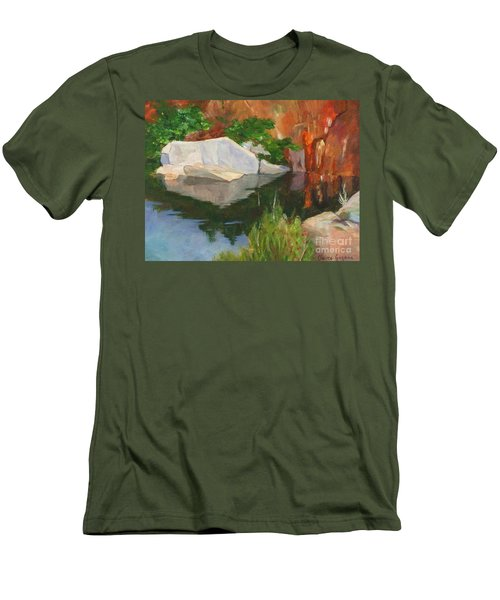 Rockport Quarry Reflection Men's T-Shirt (Athletic Fit)