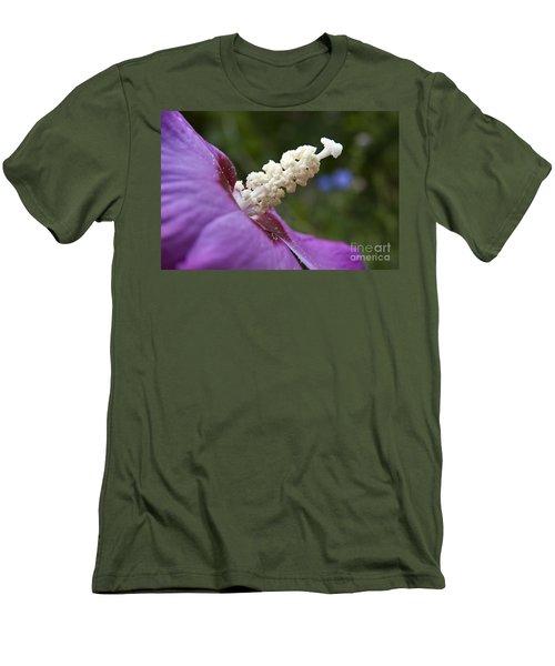 Rose Of Sharon Men's T-Shirt (Slim Fit) by Jeannette Hunt