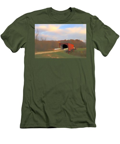 Roseman Bridge Of Clint Eastwood Fame Men's T-Shirt (Athletic Fit)