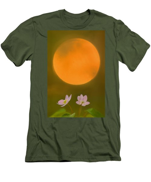 Rue Anemone And The Rising Sun Men's T-Shirt (Athletic Fit)