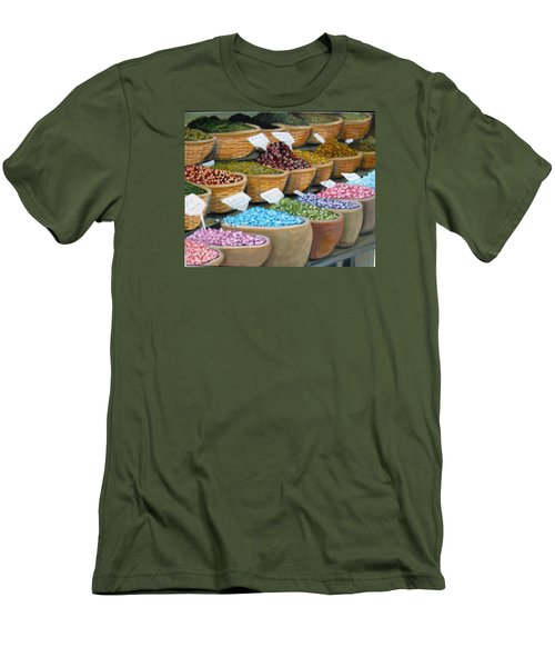 Scents For The Senses Men's T-Shirt (Slim Fit) by Laurie Morgan