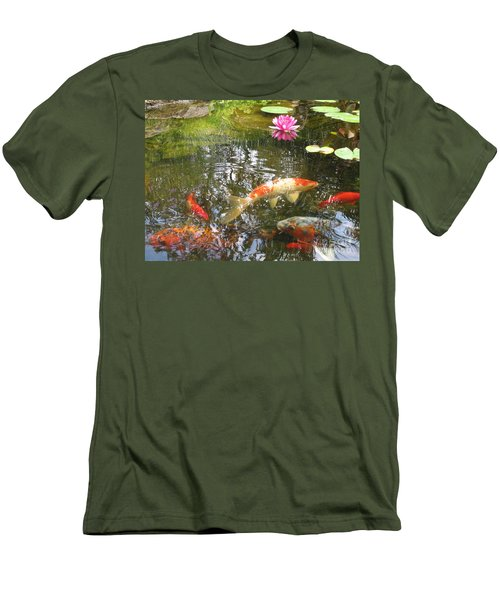 Men's T-Shirt (Slim Fit) featuring the photograph Serenity by Laurianna Taylor