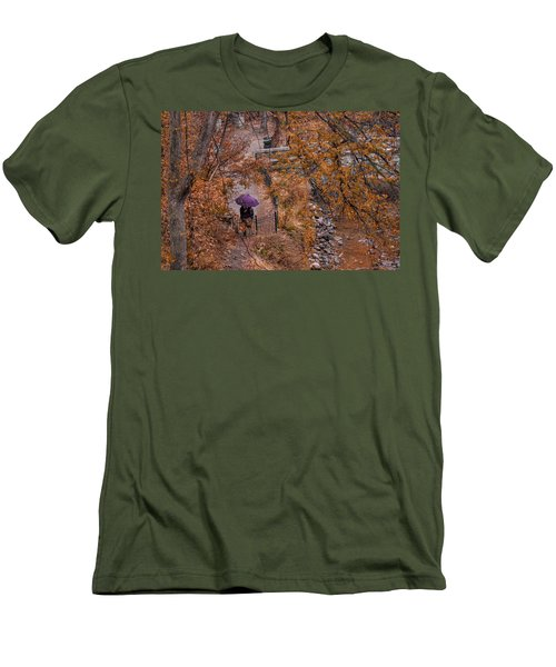 Men's T-Shirt (Slim Fit) featuring the photograph Alone Together by Tom Gort