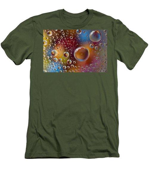 Smartie Drops Men's T-Shirt (Athletic Fit)