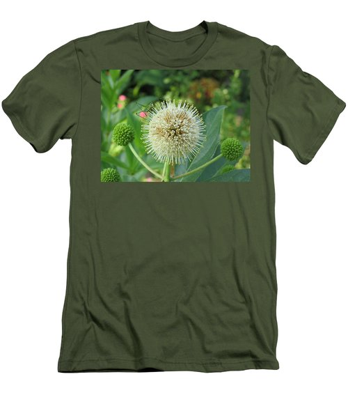 Men's T-Shirt (Slim Fit) featuring the photograph Snakeroot Rider by Mark Robbins