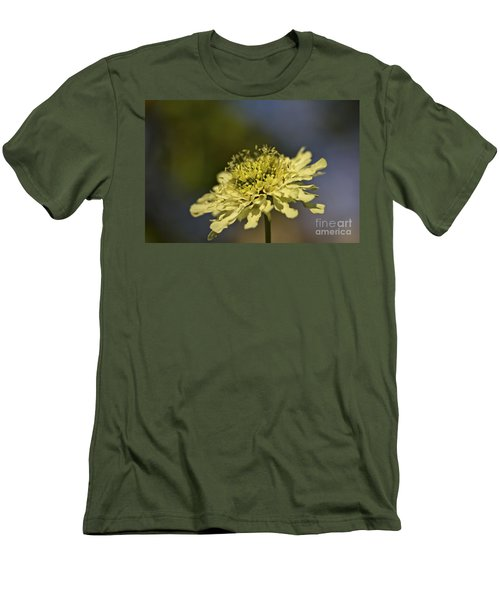 Men's T-Shirt (Slim Fit) featuring the photograph Soft Yellow. by Clare Bambers