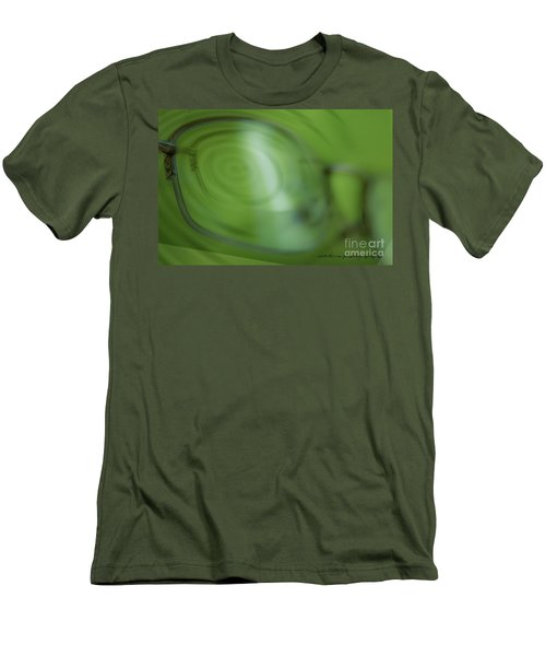 Men's T-Shirt (Slim Fit) featuring the photograph Spinner Vision by Vicki Ferrari Photography