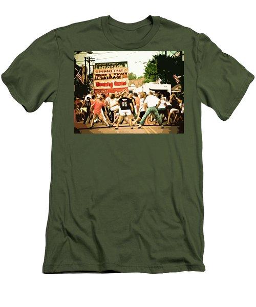Street Dance Men's T-Shirt (Slim Fit) by Jessica Brawley