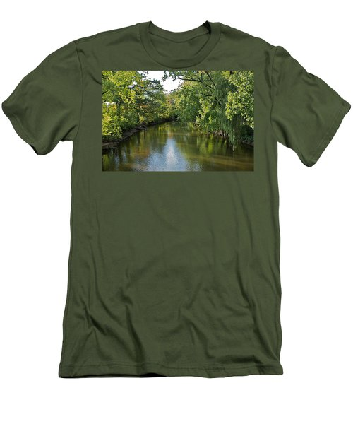 Men's T-Shirt (Slim Fit) featuring the photograph Summer Light by Joseph Yarbrough