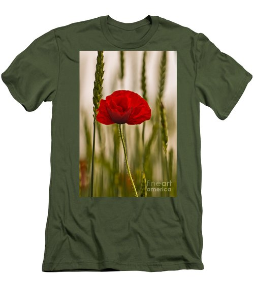 Men's T-Shirt (Slim Fit) featuring the photograph Sunset Glow. by Clare Bambers
