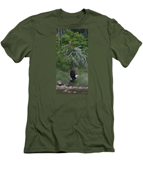 Taking Home The Catch Men's T-Shirt (Slim Fit) by Francine Frank