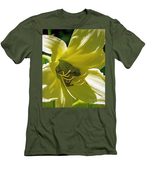 The Day Lily Met Her Prince Men's T-Shirt (Athletic Fit)