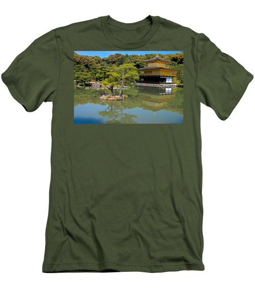 The Golden Pavilion Men's T-Shirt (Athletic Fit)