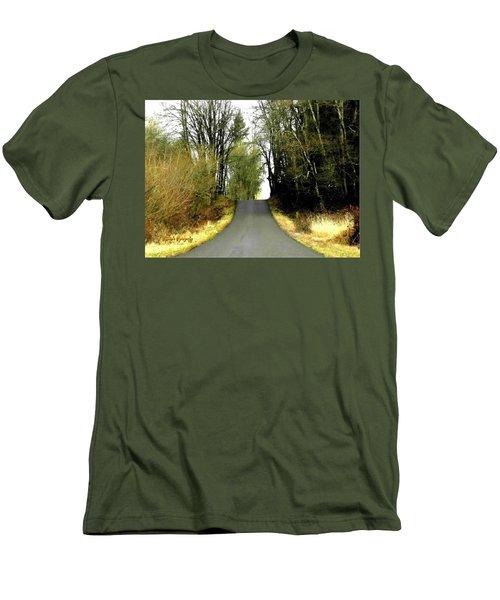 The High Road Men's T-Shirt (Slim Fit) by Sadie Reneau