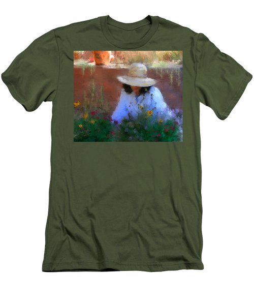 The Light Of The Garden Men's T-Shirt (Athletic Fit)