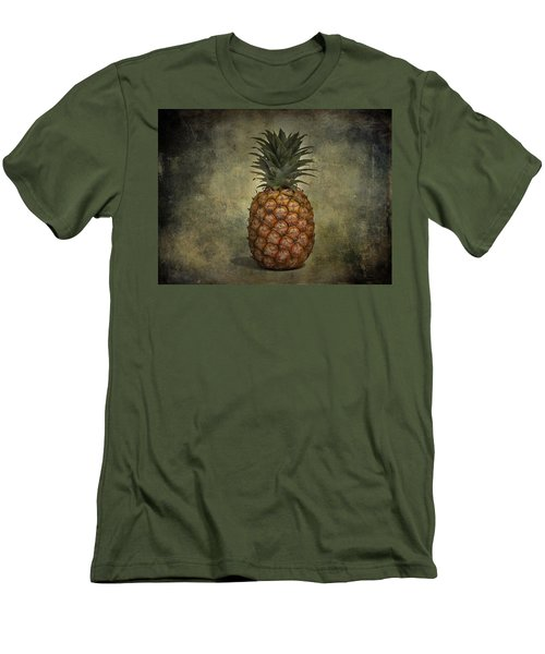 The Pineapple  Men's T-Shirt (Slim Fit) by Jerry Cordeiro