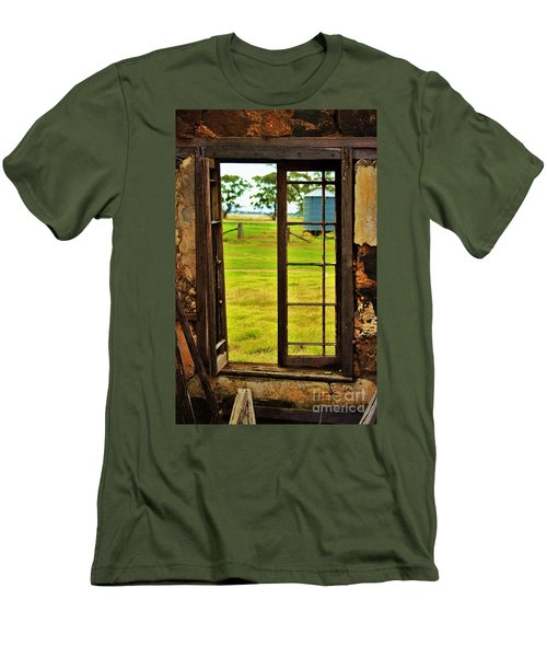 Men's T-Shirt (Slim Fit) featuring the photograph The View From Within by Blair Stuart