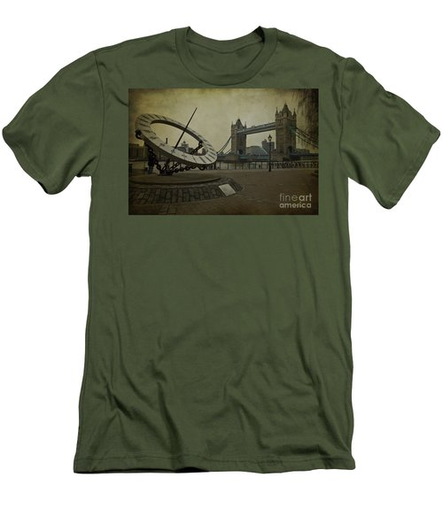 Men's T-Shirt (Slim Fit) featuring the photograph Timepiece. by Clare Bambers