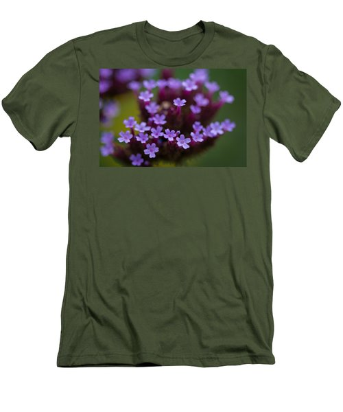 tiny blossoms II Men's T-Shirt (Slim Fit) by Andreas Levi