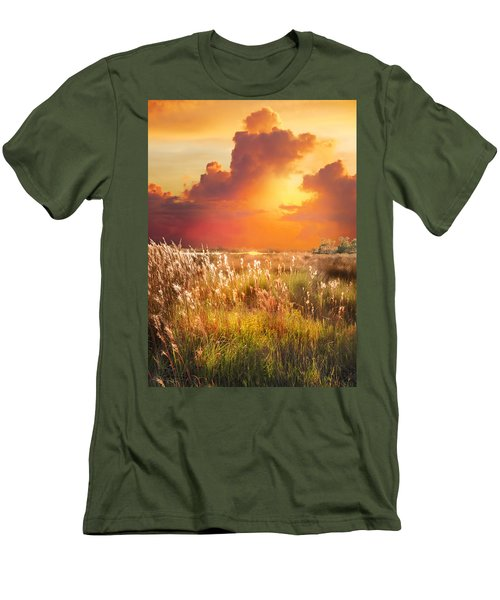 Tropical Savannah Men's T-Shirt (Athletic Fit)