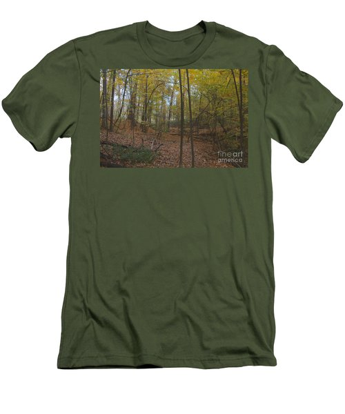 Men's T-Shirt (Slim Fit) featuring the photograph Tryon Park by William Norton